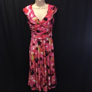 Maggy London Floral Dress Size 6